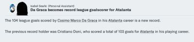 Da Graca record goalscorer