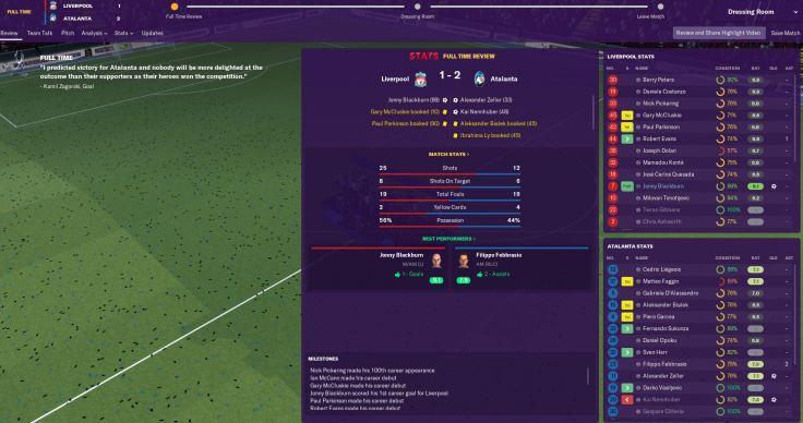 Euro Super Cup win