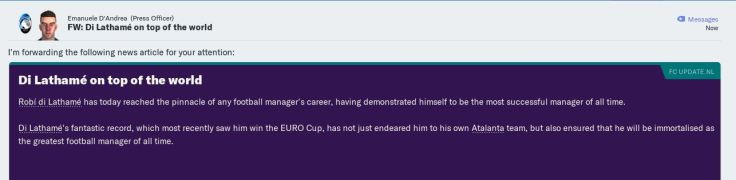 Greatest Manager ever