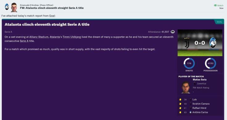 11 straight titles